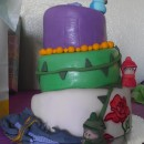 Coolest Sleeping Beauty Baby Shower Cake