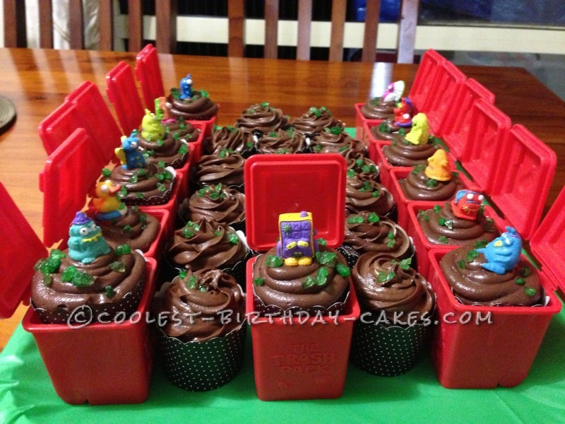 Coolest Trash Pack Cupcakes