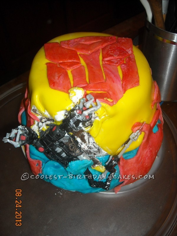 Tremendous Coolest Homemade Transformers Cakes Funny Birthday Cards Online Elaedamsfinfo