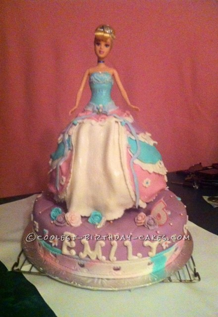 Ultimate Cinderella Surprise Cake