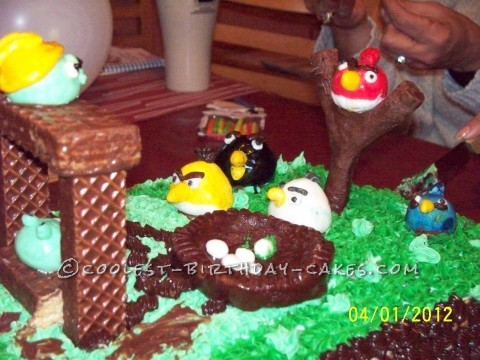 Coolest Angry Angry Birds Cake