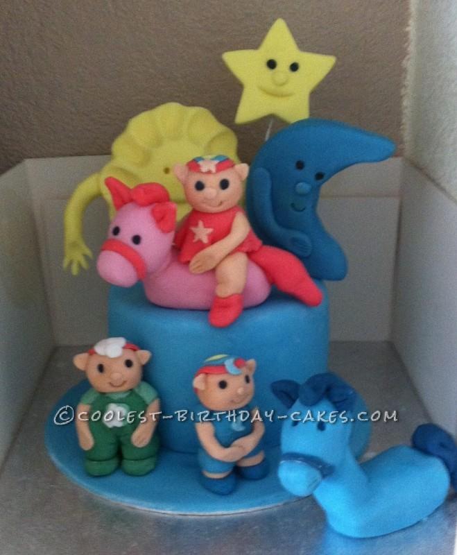 Coolest Homemade Cloud Babies Cake