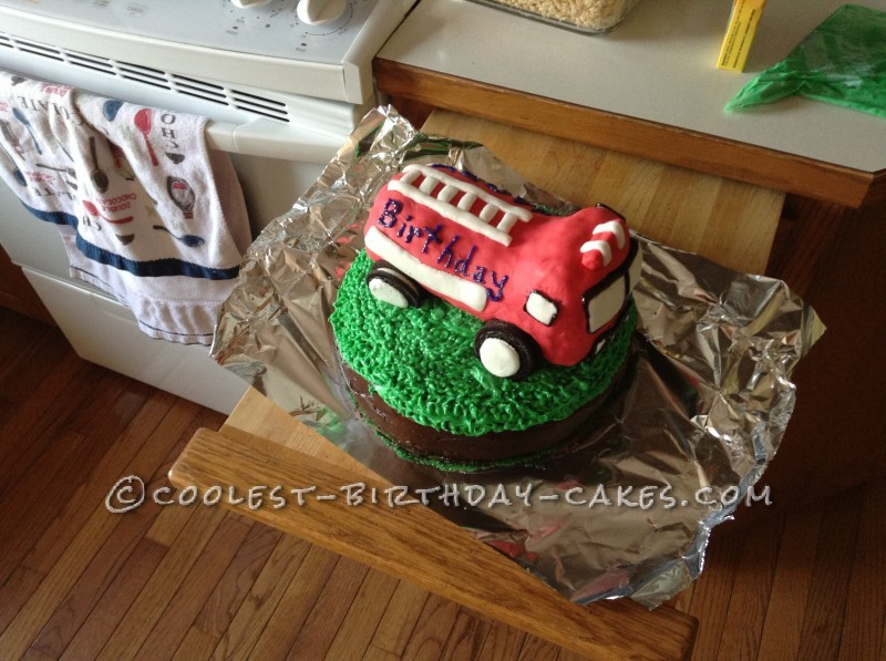 Coolest Fire Fighter Cake Ever