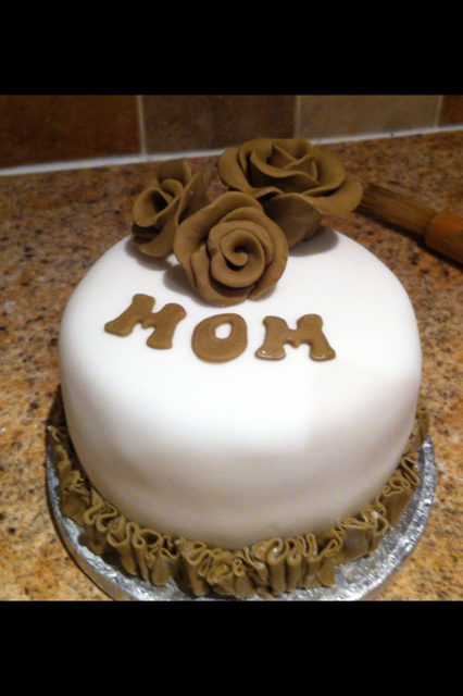 Coolest Rose Birthday Cake