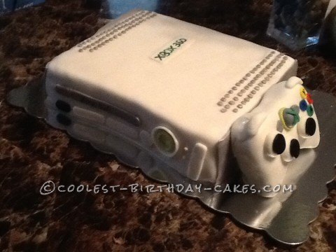 Strange Cool Xbox 360 Birthday Cake Funny Birthday Cards Online Elaedamsfinfo