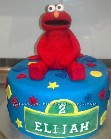 Enjoyable 15 Coolest Elmo Cake Ideas Coolest Birthday Cakes Funny Birthday Cards Online Inifodamsfinfo