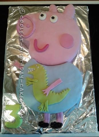 Coolest George Pig Cake