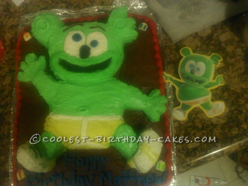 Incredible Gummy Bear Birthday Cake Funny Birthday Cards Online Benoljebrpdamsfinfo
