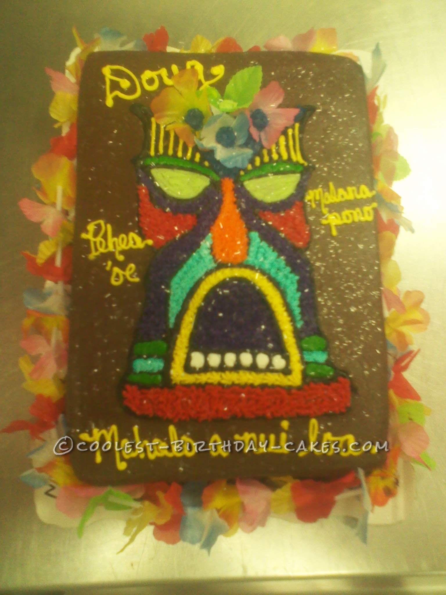 Cool Hawaiian Thanks Cake