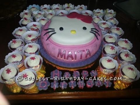 Coolest Hello Kitty Birthday Cake