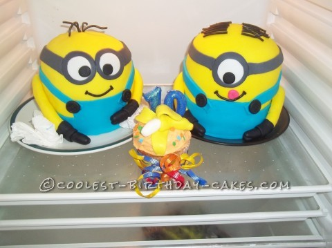 Coolest Minions Birthday Cake