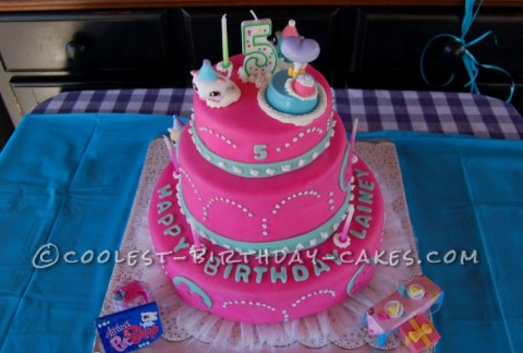 Littlest Pet Shoppe Cake for a 5 -Year Old Girl