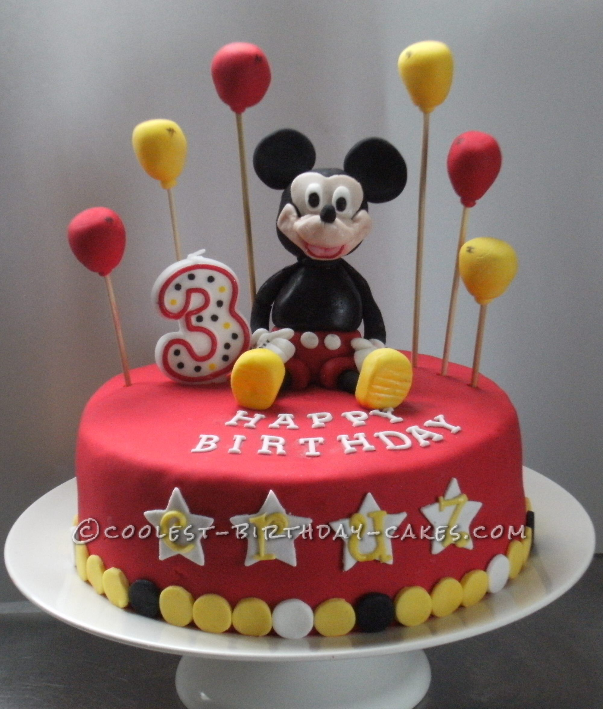 Coolest Mickey Mouse Cake