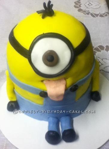Coolest Minnion Birthday Cake