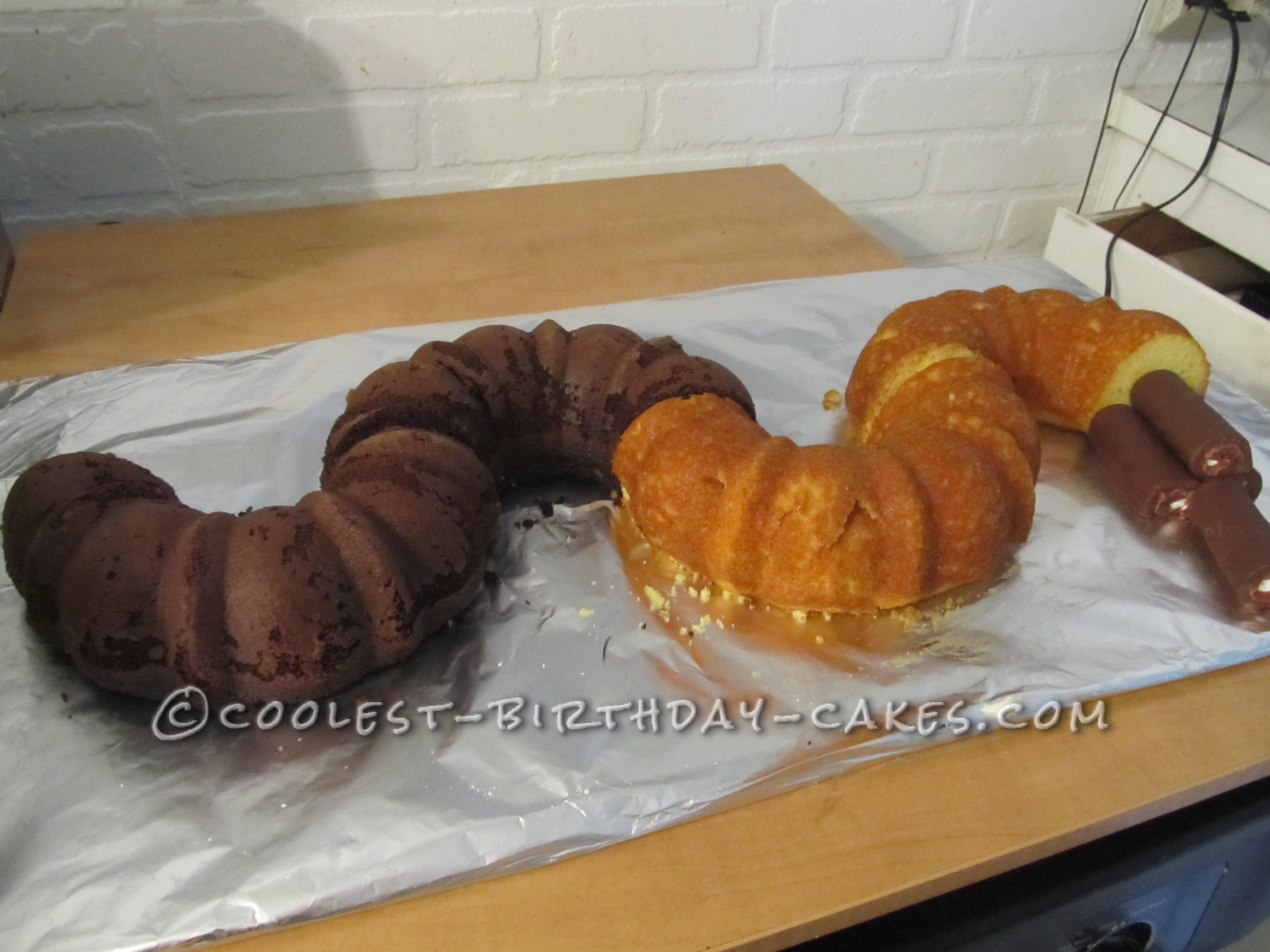 Cool Snake Lovers Cake