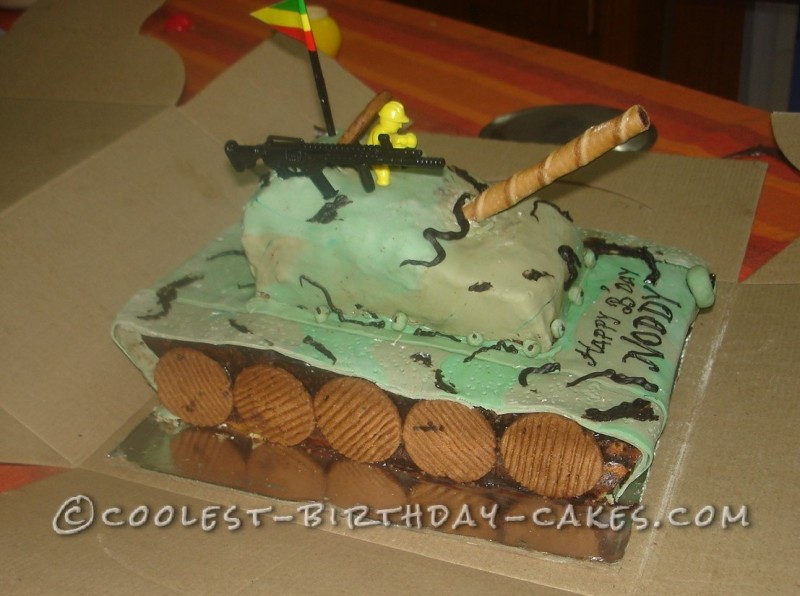 Coolest  T 90 Tank Cake