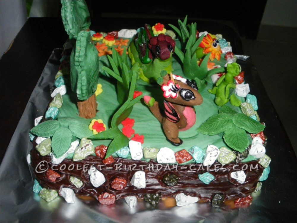 Awesome Dragonvale Cake For 10 Year Old Girl