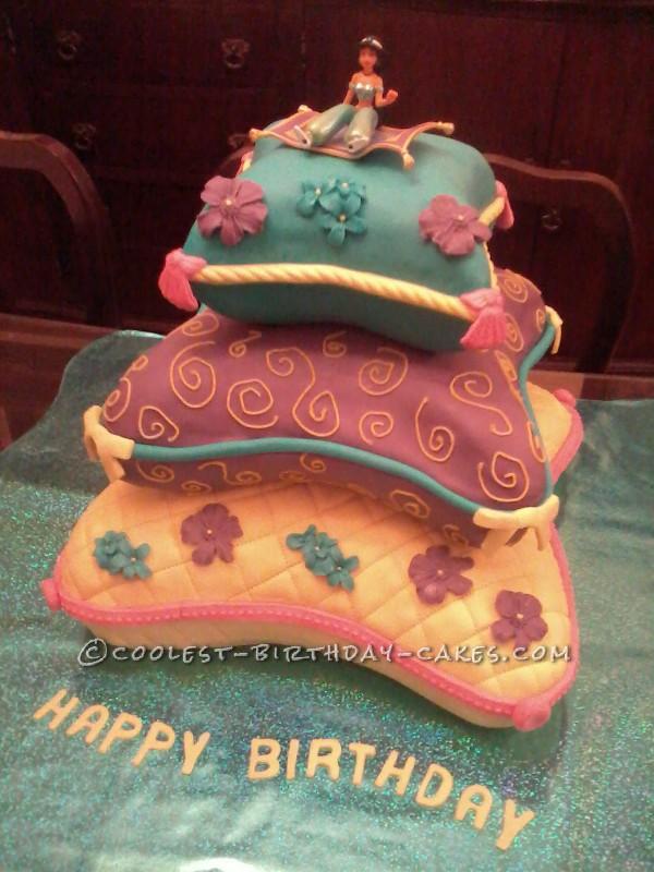 Magic Carpet Ride Princess Jasmine Cake