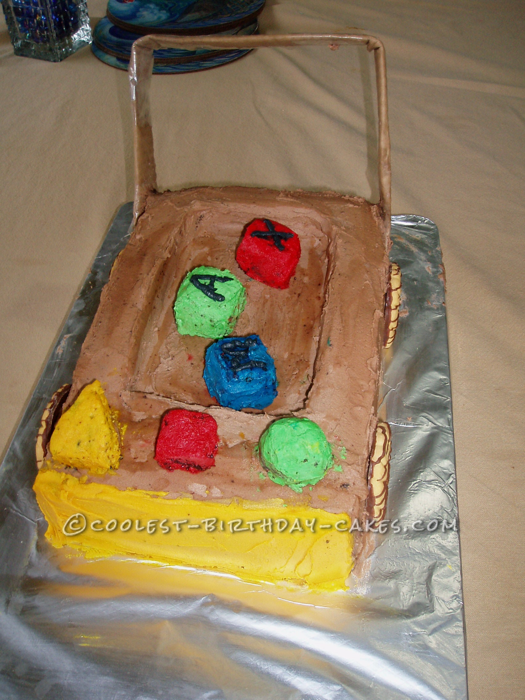 Coolest Block Trolley Cake