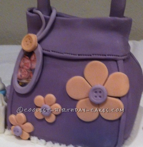 Coolest Handbag Birthday Cake