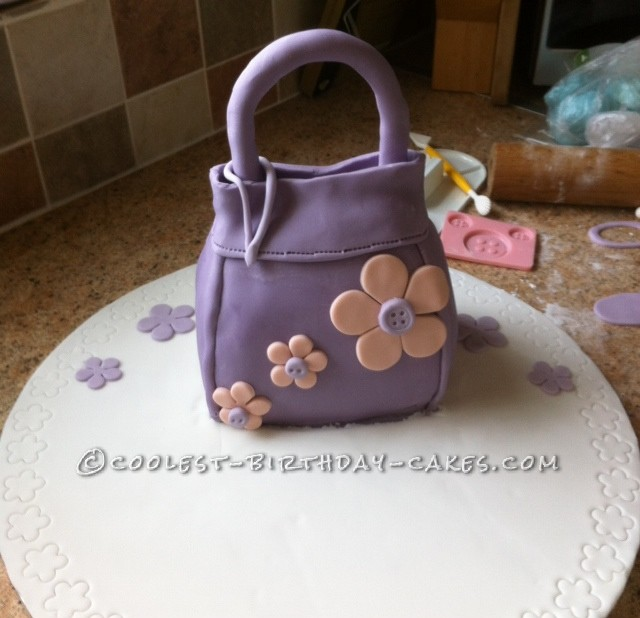 Coolest Handbag Birthday Cake