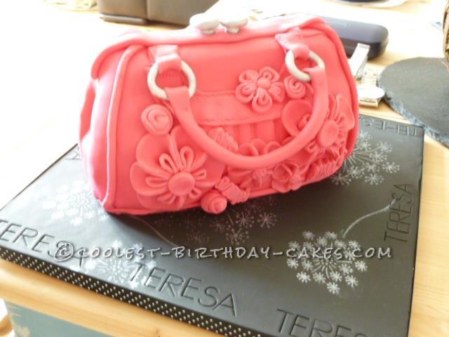 Homemade Handbag Cake For a Friend
