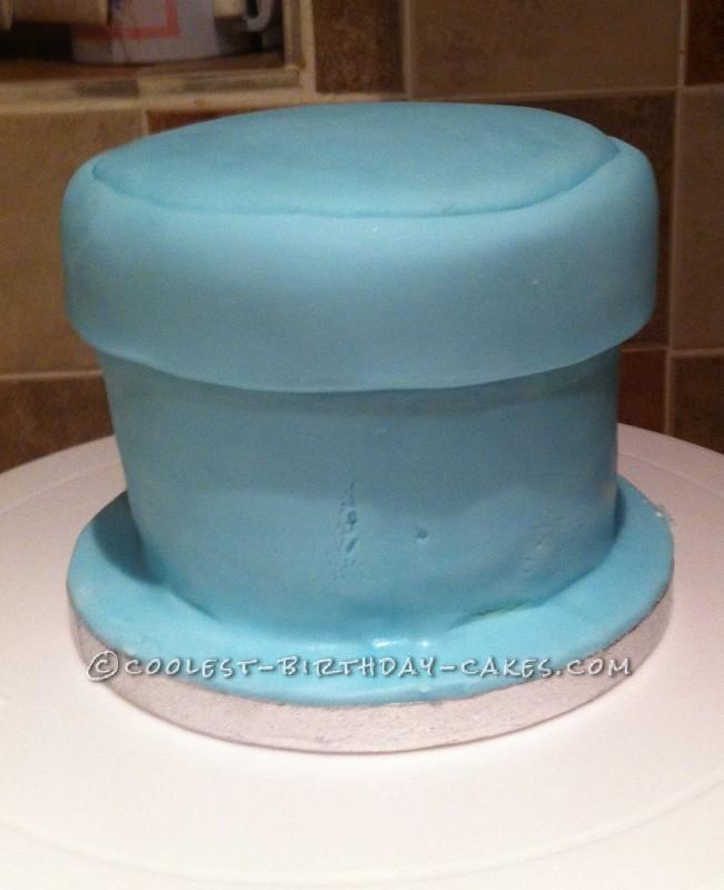 Coolest Gift-Wraped Box Birthday Cake