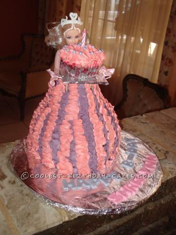 Cute Princess Doll Cake