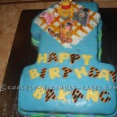 Winnie the Pooh and Friends 1st Birthday Cake