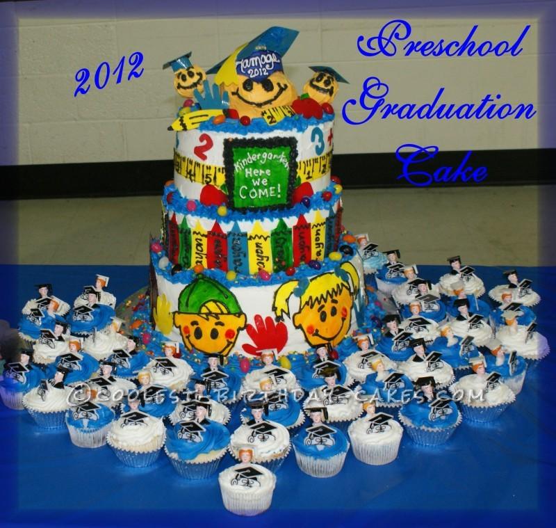 Katie's Pre-School Graduation Cake
