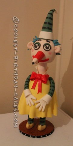Cool Mr. Squiggle Birthday Cake for My Hubby