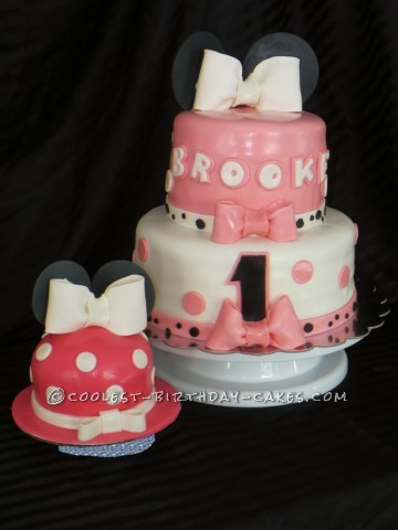 Coolest Minnie Cake for Brooke