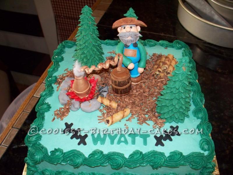 Moonshiner Birthday Cake