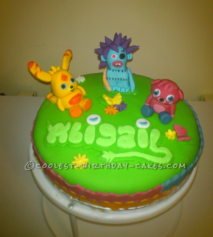 Coolest Moshi Monsters Birthday Cake
