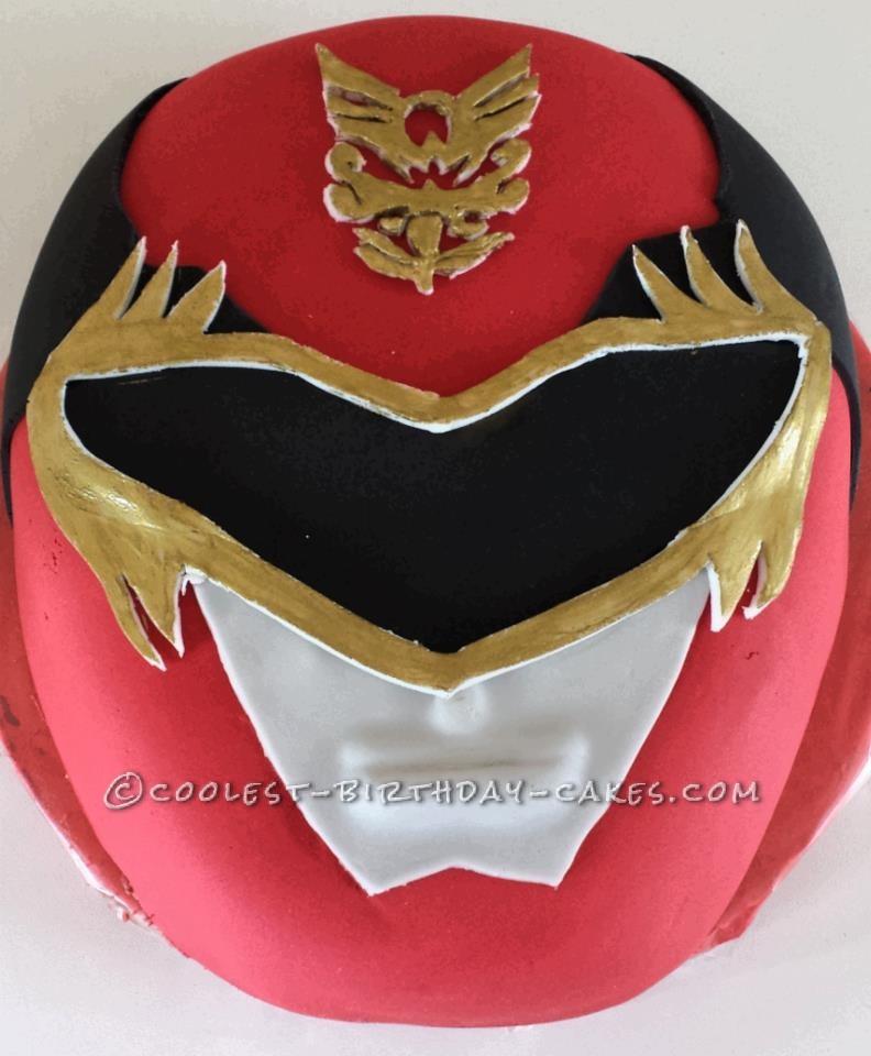 Coolest Homemade Power Rangers Birthday Cake