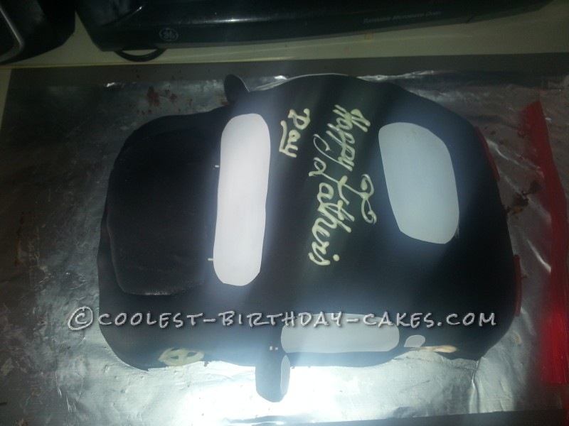 Coolest Surprise Car Cake for Daddy