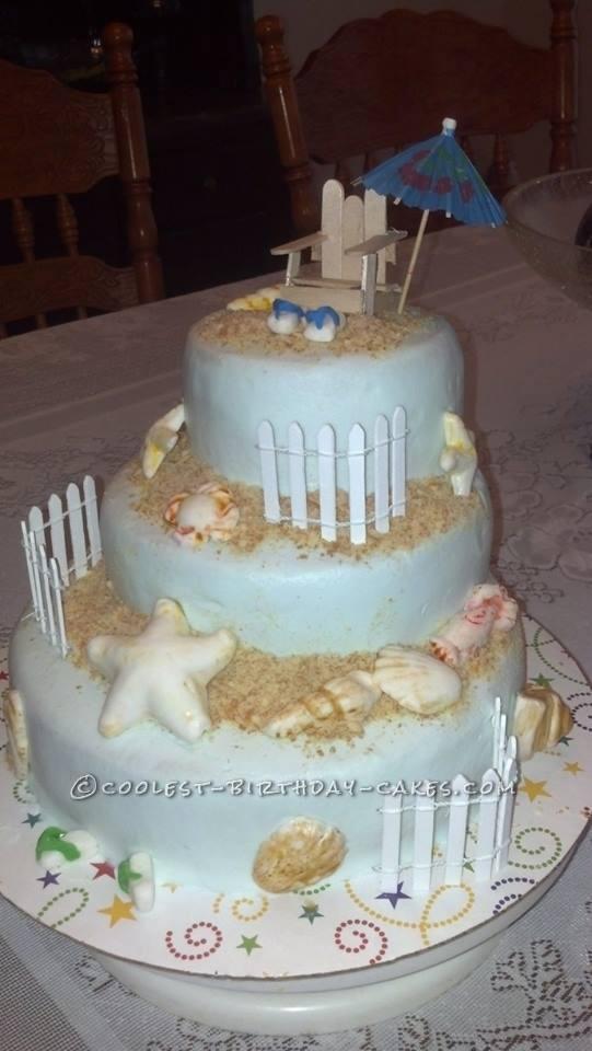 The Last of Summer Birthday Cake