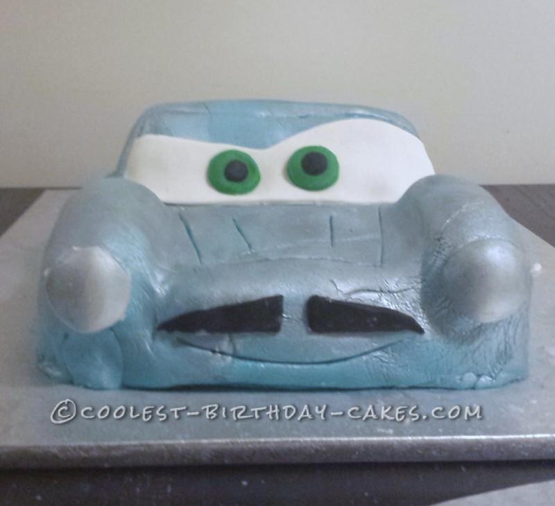 Cool Finn McMissile Birthday Cake