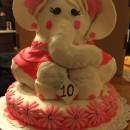 Coolest 3D Elephant Cake