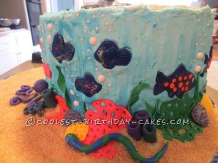 Amazing Underwater Adventure Cake