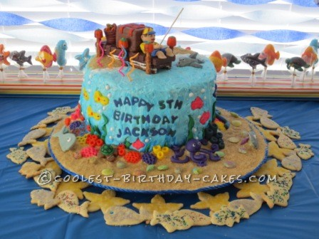 Amazing Underwater Adventure Cake