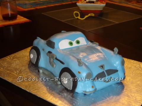 Coolest Finn McMissle Cake