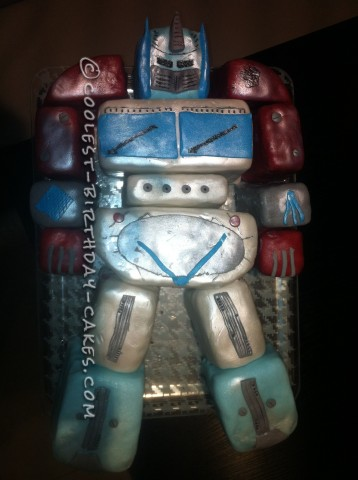 Coolest Optimus Prime Cake