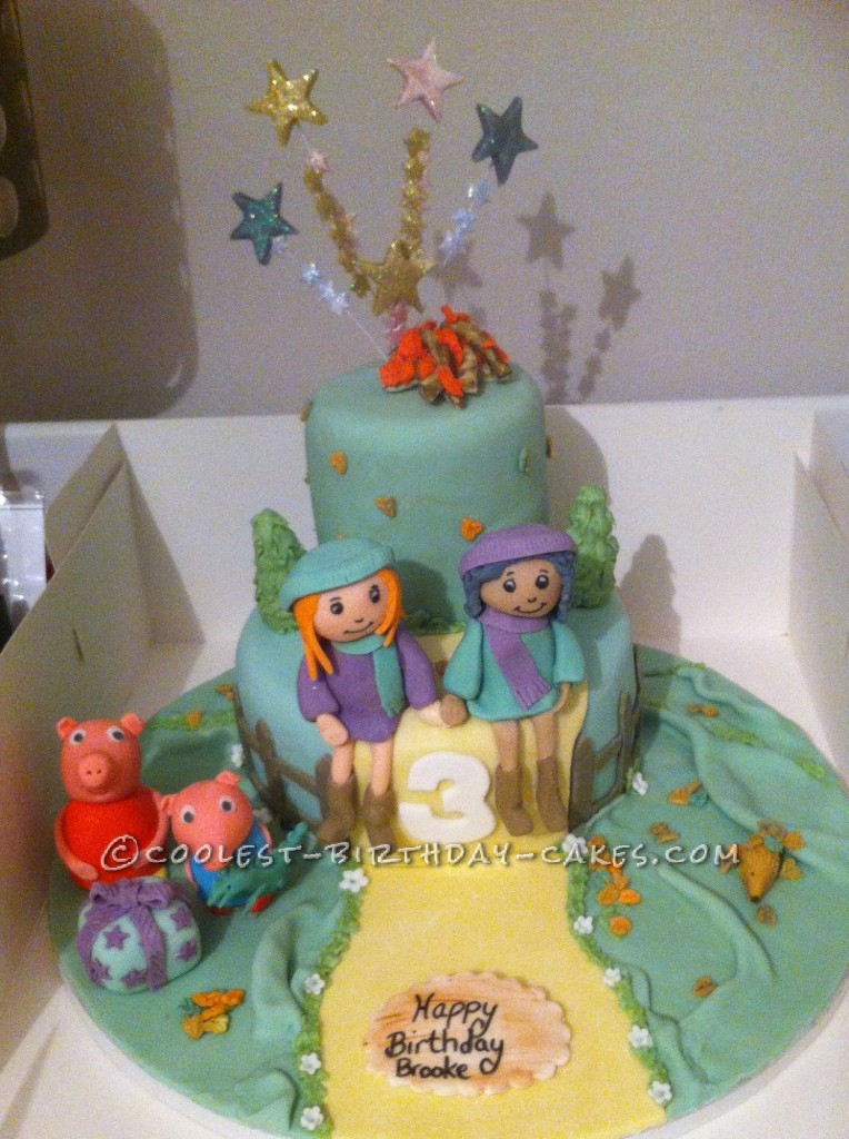 Awe Inspiring Coolest Peppa Pig Birthday Cake For A Special Girl Personalised Birthday Cards Paralily Jamesorg