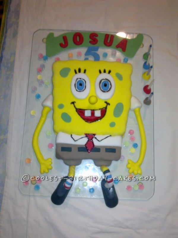 Coolest SpongBob Birthday Cakes