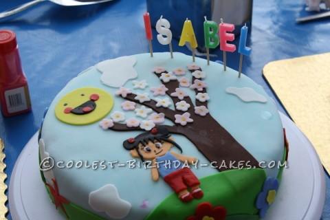 Coolest Ni Hao Kai Lan Birthday Cake