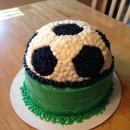 Coolest Homemade Soccer Ball Cake