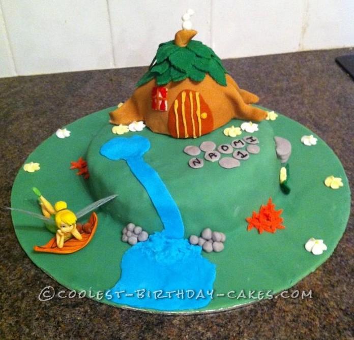 Coolest Tinkerbell Birthday Cake