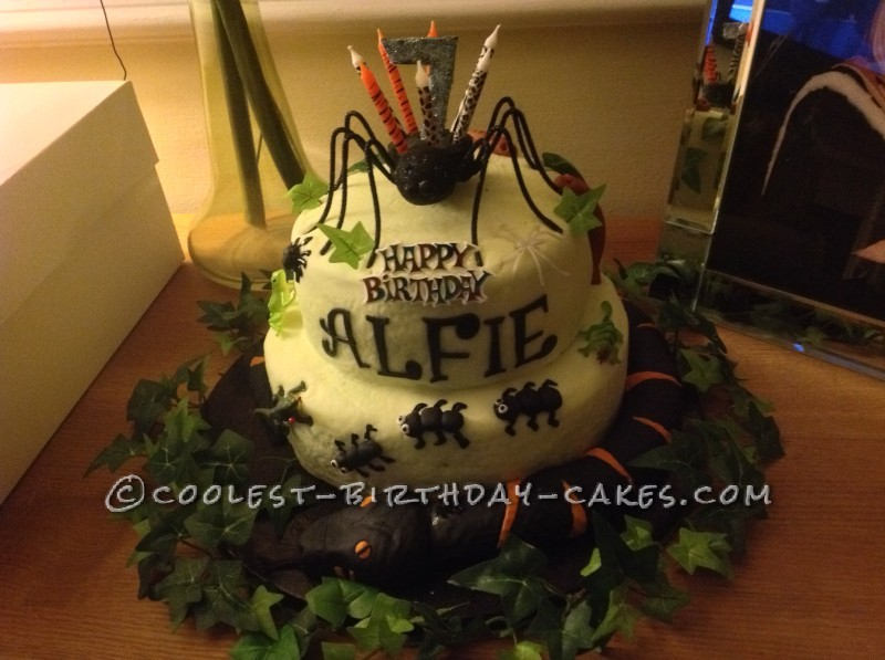 Coolest Creepy Crawly Snake Cake is Ant-Tastic