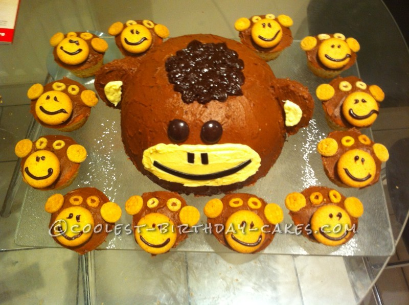 Coolest Cheeky Monkey Cake
